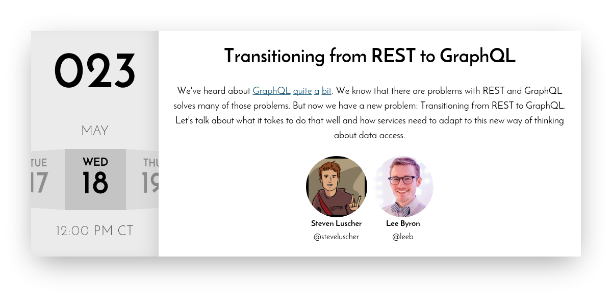 JavaScript Air | Transitioning from REST to GraphQL